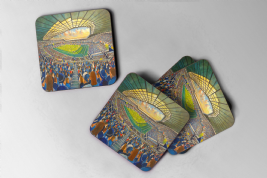 murrayfield Coaster set of four